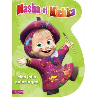 Masha et MichkaMasha et Michka - Mes jolis coloriages
