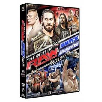 WWE The Best of Raw and Smackdown 2015 DVD