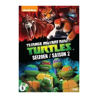 Teenage Mutant Ninja Turtles Seizoen 2 Dvd Box Inconnus Alle