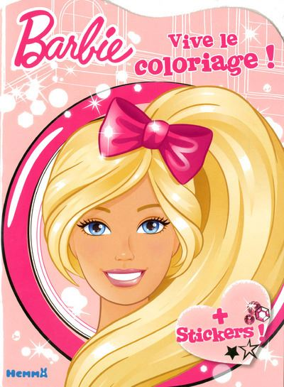 Barbie Vive Le Coloriage Barbie Collectif Broche Achat Livre Fnac