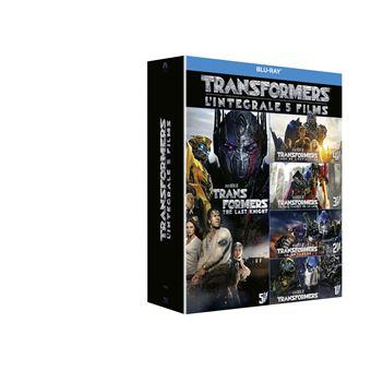 TransformersTransformers L'intégrale Coffret 1 à 5 Blu-ray
