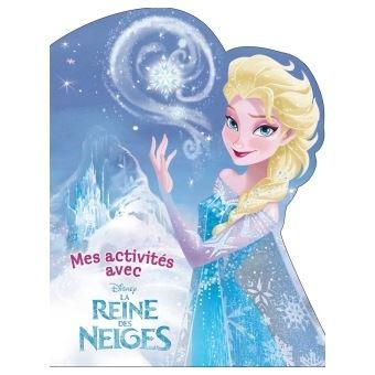La Reine Des Neiges Activites A Decouper Elsa La Reine Des