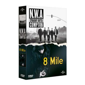 N.W.A Straight Outta Compton + 8 Mile DVD