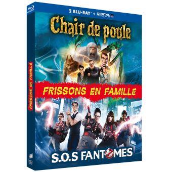 SOS FantômesCoffret Frissons en famille Blu-ray