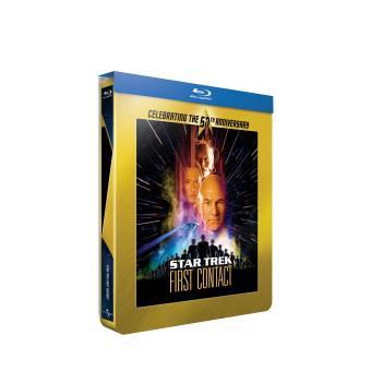 Star TrekStar Trek VIII Premier contact Edition Collector Steelbook Blu-ray