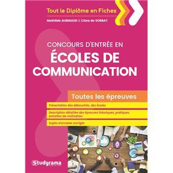 Concours d'entrée en Écoles de communication