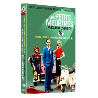 Les petits meurtres d'Agatha ChristieLes petits meurtres d'Agatha Christie La mystérieuse affaire de Styles DVD