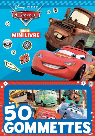 CARS - Mon Mini-Livre Gommettes