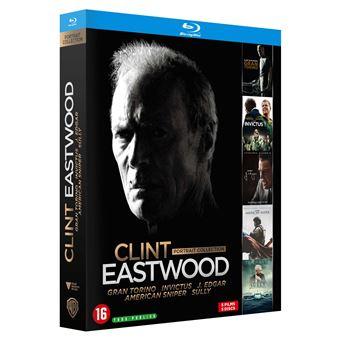 Coffret Eastwood Portrait Blu-ray