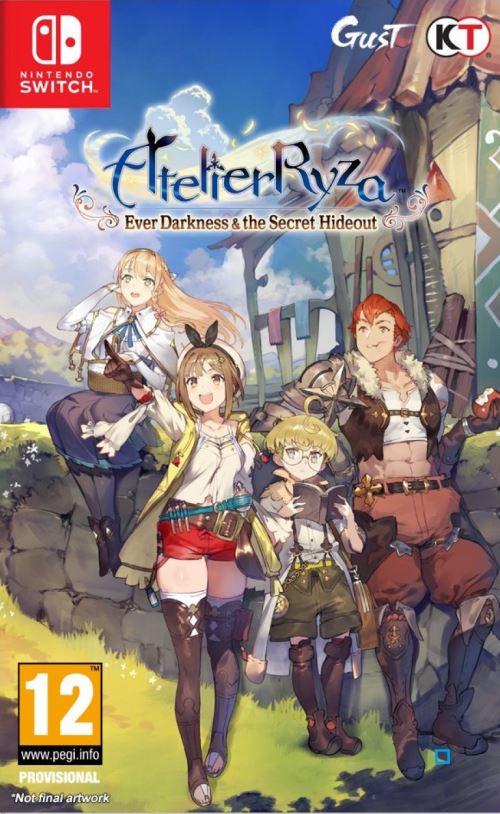 Atelier Ryza Ever Darkness et The Secret Hideout Nintendo Switch