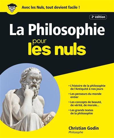 La Philosophie Pour les Nuls - 9782754034845 - 15,99 €