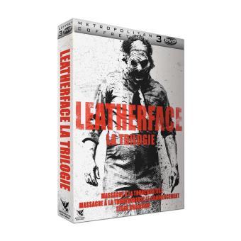 Coffret Leatherface 3 films DVD