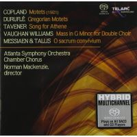 Motets - Song for Athene - Messe en sol mineur  - O sacrum convivium