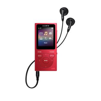 Lecteur MP3 Sony NWE394 8 Go Rouge