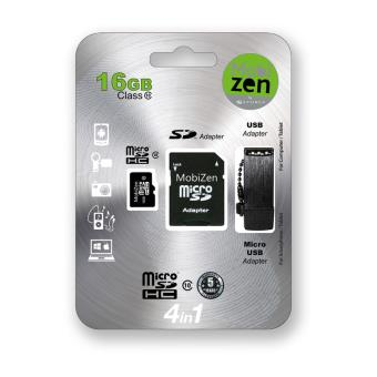 Mobizen Microsdhc 16Gb Cl10 W/ Adapter