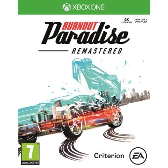 BURNOUT PARADISE REMASTERED FR/NL XONE