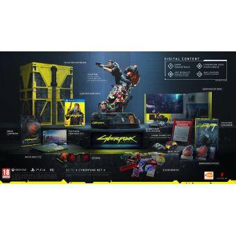 Pre-order - CYBERPUNK 2077 COLLECTOR NL PS4 - Levering vanaf 17/09/20