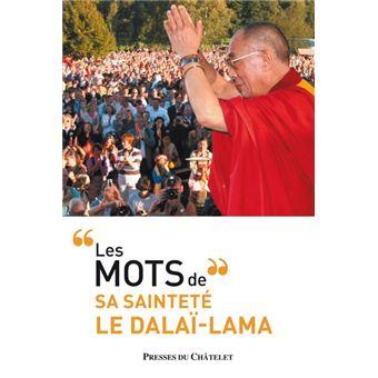Les mots du dalaï-lama