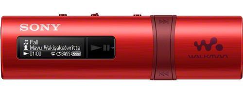 Lecteur MP3 Sony NWZB183 FM Rouge 4 Go