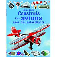 Construis tes avions avec des autocollants
