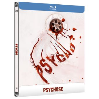 Psychose Edition Collector Steelbook Blu-ray