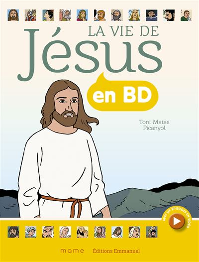 La vie de Jésus en BD - broché