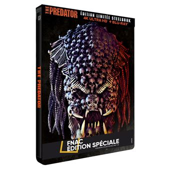 PredatorThe Predator Steelbook Edition Spéciale Fnac Blu-ray 4K Ultra HD