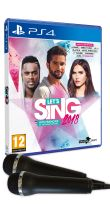 Let's Sing 2018 PS4 + 2 microphones
