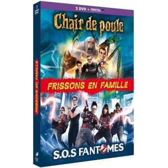 SOS FantômesFrissons en famille/coffret/chair de poule/sos fantomes