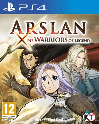 Arslan X The Warriors of Legend PS4