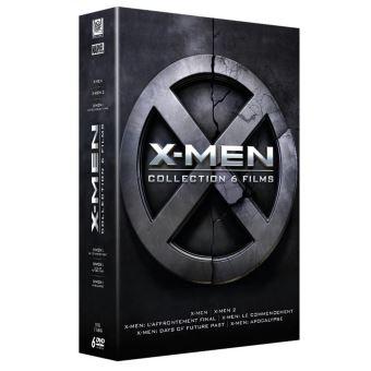 X-MenX-Men L'intégrale Prélogie et Trilogie DVD