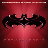 Batman And Robin Vinyle Rouge Bleu