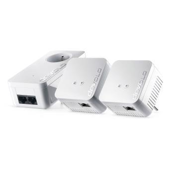 Kit Réseau 3 adaptateurs Devolo CPL dLAN 550 WiFi