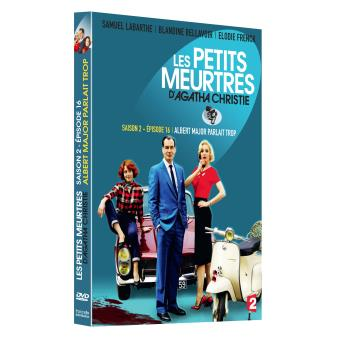 Les petits meurtres d'Agatha ChristieLes petits meurtres d'Agatha Christie Albert Major parlait trop DVD