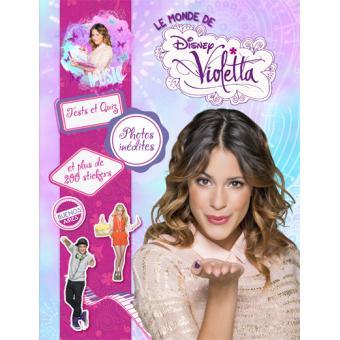 Violetta livre avec stickers violetta ma journee - Jeux gratuits de violetta ...