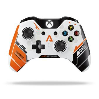 manette sans fil edition limit e titanfall xbox one accessoire console de jeux achat prix. Black Bedroom Furniture Sets. Home Design Ideas