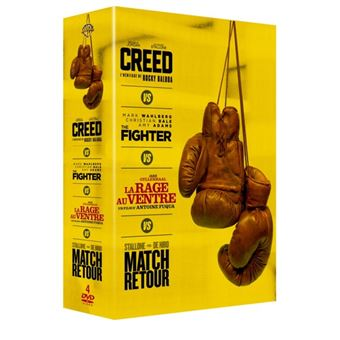 Coffret Boxing 4 films DVD