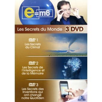 E=M6E=M6-SECRETS CLIMAT-INTELLIGENCE & MEMOIRE-INVENTIONS-3 DVD