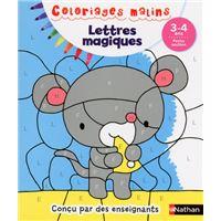 Lettres magiques PS 3/4 ans - Coloriages malins