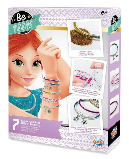 Kit créatif Bracelets Paillettes Buki France