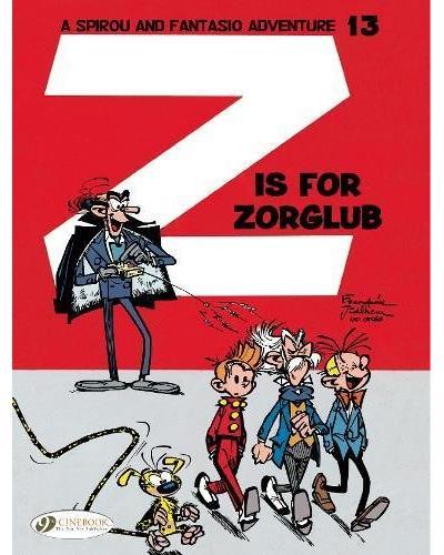 Spirou & Fantasio - tome 13 Z is for Zorglub
