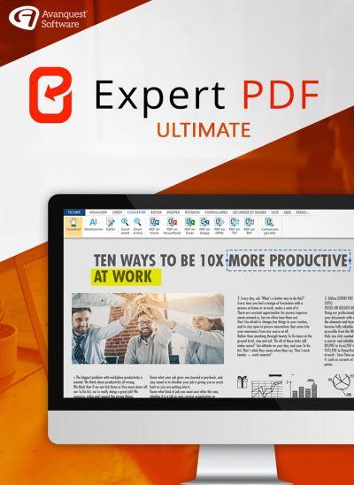 Expert PDF 14 Ultimate, Logiciel à télécharger, Top Prix   fnac