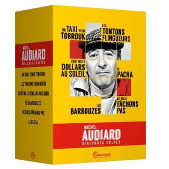 Coffret Audiard Dialogues cultes 6 films DVD