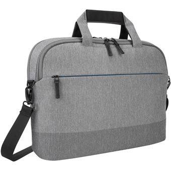 "Targus CityLite Slim Briefcase Laptop Case 12-15.6"" Grijs"