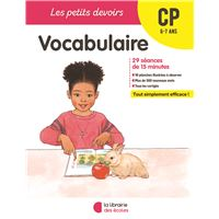 Vocabulaire CP, Cycle 2