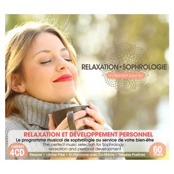 Box Set Relaxation - Sophrologie - 4 CDs