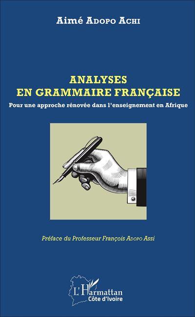 Analyses en grammaire française