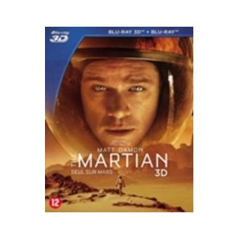 MARTIAN-SEUL SUR MARS-BIL-BLURAY 3D