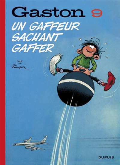Gaston (Edition 2018) - tome 9 - Un gaffeur sachant gaffer (Edition 2018) - 9791034732876 - 5,99 €