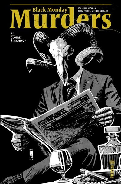 Black Monday Murders Tome 1 - 9791026830092 - 4,99 €